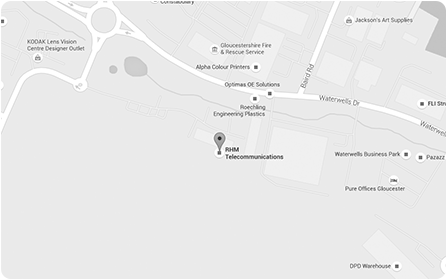 Map of office location