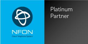 NFON's Platinum Partner Logo