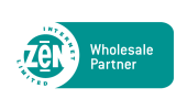 The Zen Internet Wholesale Partner logo
