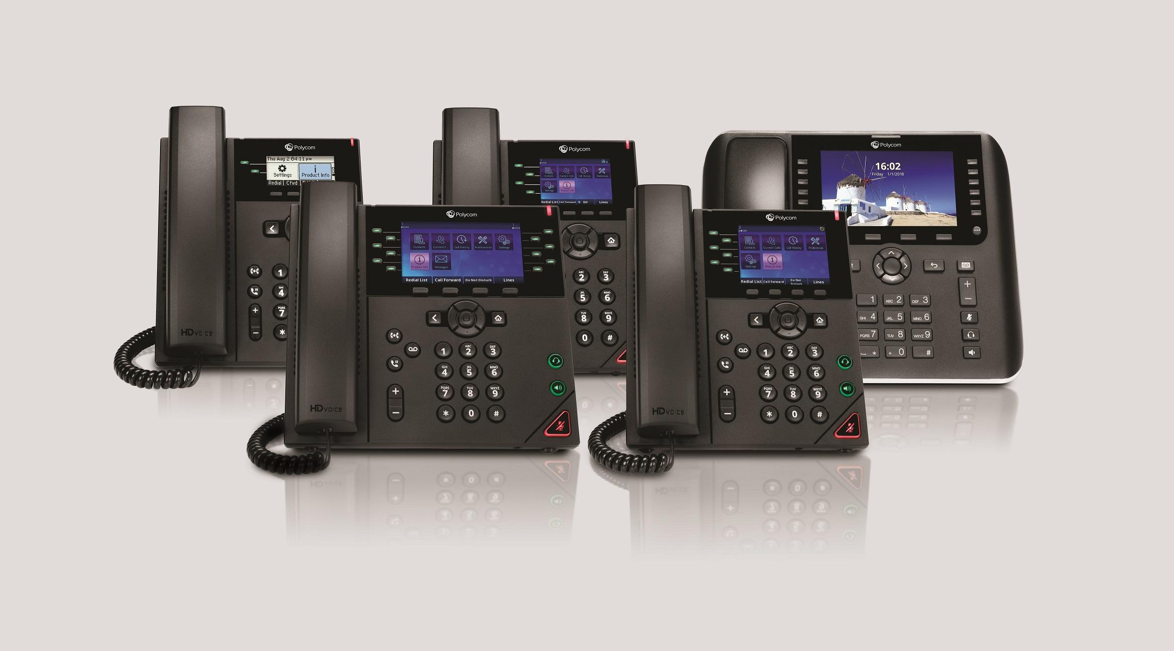 Polycom phone systems