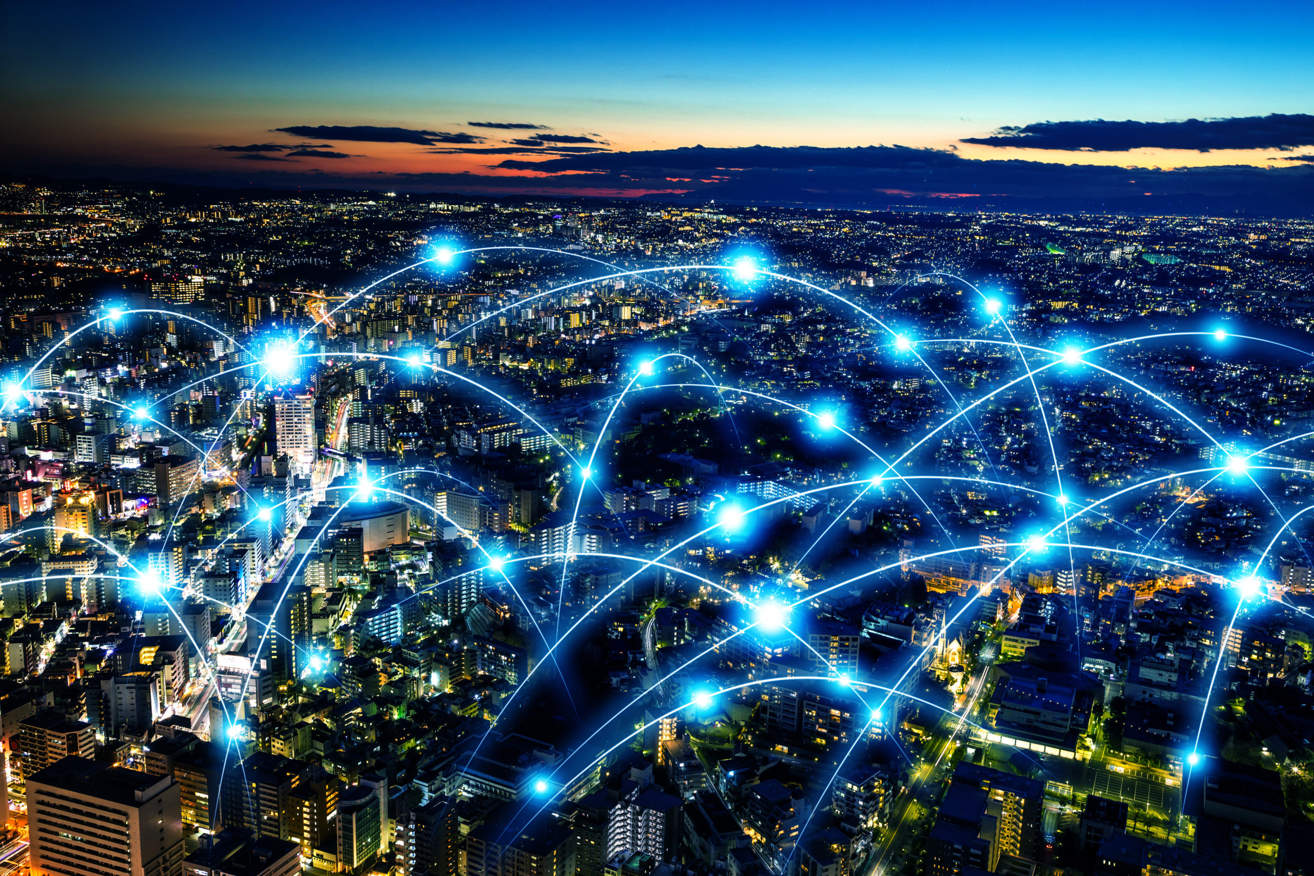 Smart, connected city