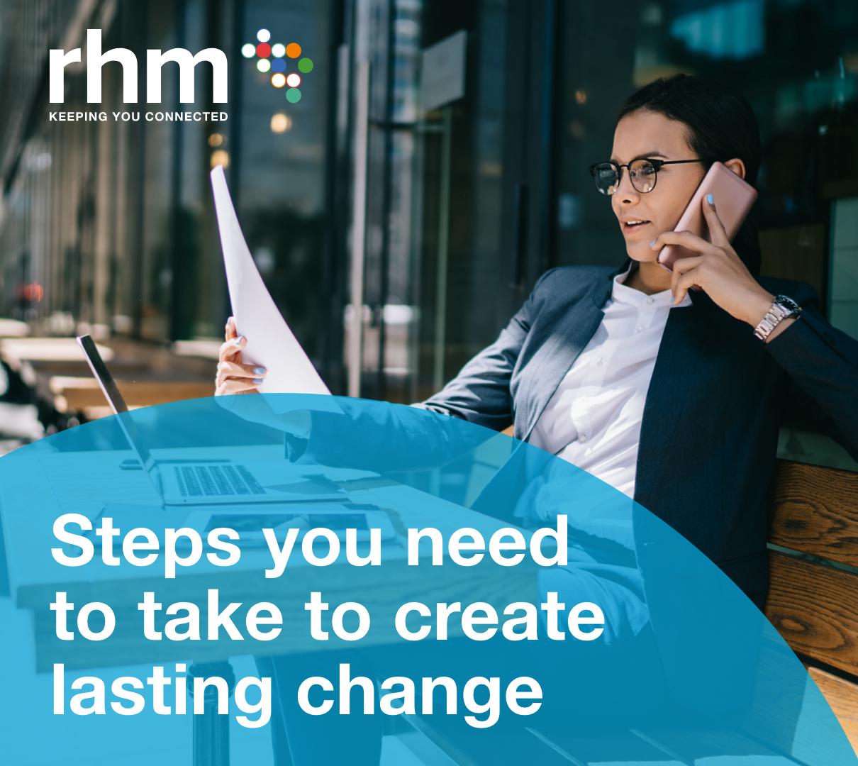 Lasting change blog